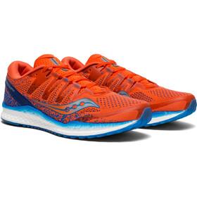 saucony Freedom ISO 2 - Zapatillas running Hombre - naranja/azul